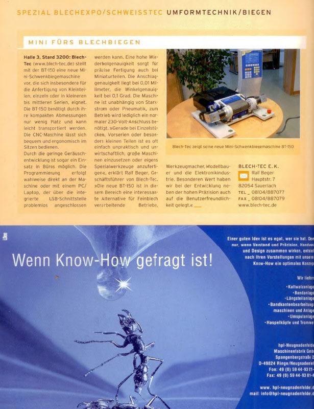 BBR - Bänder Bleche Rohre // Ausgabe Nr. 7 - Juli 2007