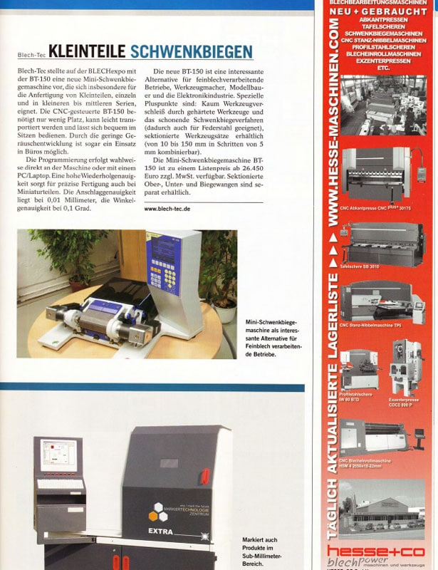 Blech // Ausgabe Nr. 4 - August 2007
