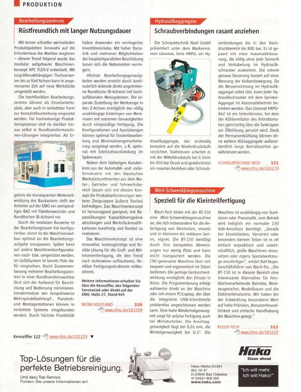 Der Betriebsleiter // Ausgabe Nr. 9 - 2007