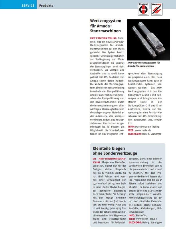Blech in Form // Ausgabe Nr. 6 - 2009