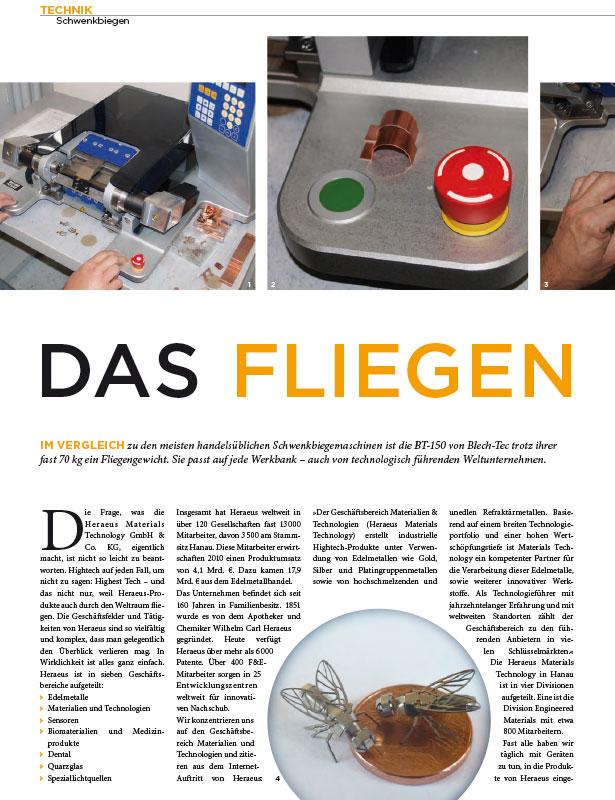 BBR - Bänder Bleche Rohre // Ausgabe Nr. 5 - Oktober 2011