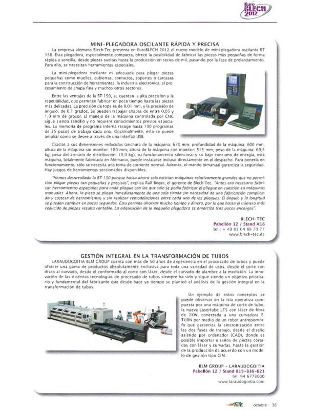 Revista Tope // Octubre 2012