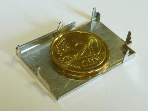 Abdeckungen - Vergleich 20 Cent Münze